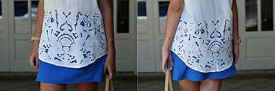 como usar blusinhas da moda
