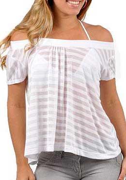 tendências de blusas da moda