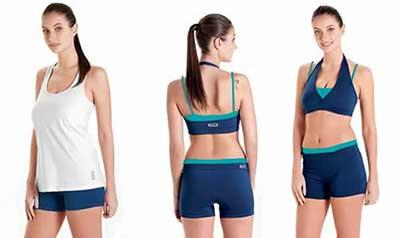tendências de roupas para ginástica