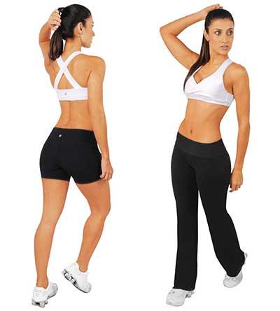 moda de roupas para ginástica