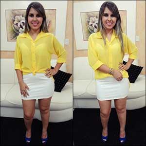 modelos de blusas amarelas