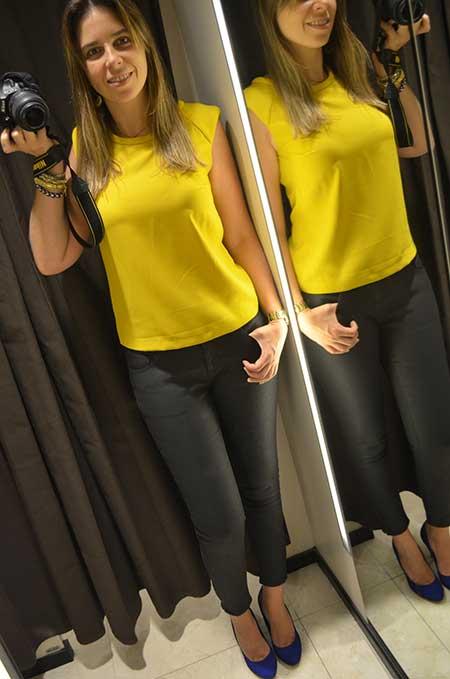 dicas de blusas amarelas