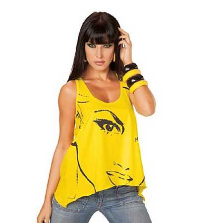 modelos vestidos amarelos