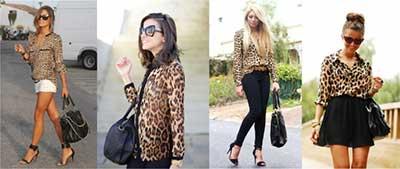 modelos de animal print da moda