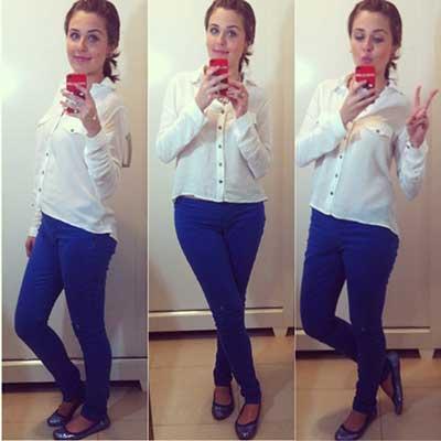 blusas brancas da moda
