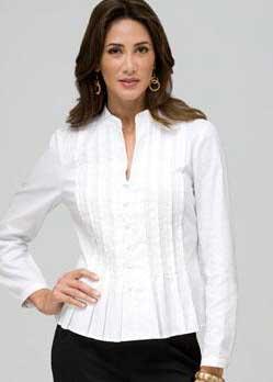 dicas de blusas brancas