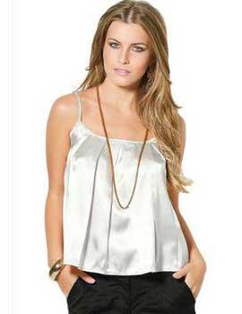 modelos de roupas brancas