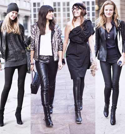 calças estilosas