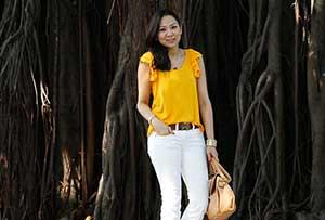 dicas de modelos de blusas amarelas