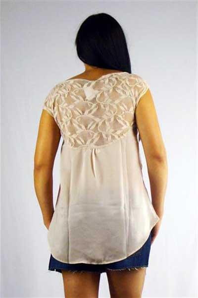 blusa de cetim