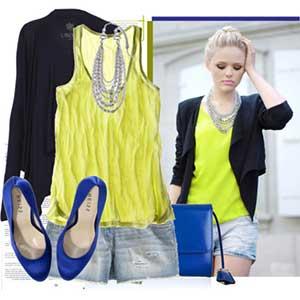 imagens de blusas amarelas