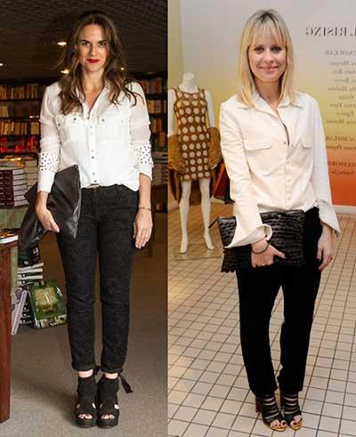 blusa brancas da moda feminina