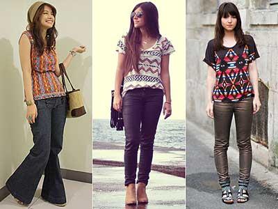 a moda das estampas étnicas