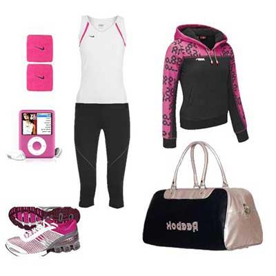 roupas para ginástica