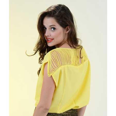 vestidos amarelos da moda feminina
