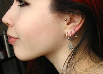 joias para piercings no tragus