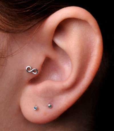 fotos de piercings no tragus