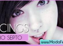 fotos, dicas e cuidados com piercing no septo