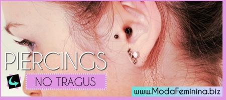 fotos, dicas e cuidados com piercing no tragus