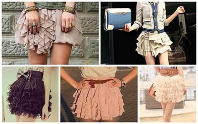 modelos de saias de renda