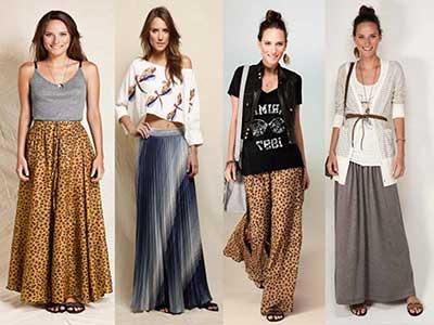 melhores modelos de saias