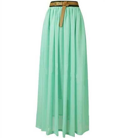 modelo de saia longa