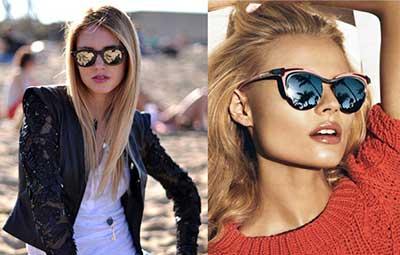 modelos de óculos espelhados
