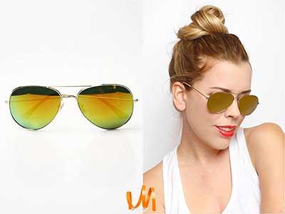 fotos de óculos espelhados