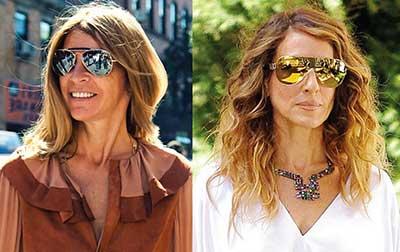 óculos feminino da moda