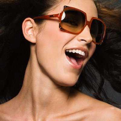 óculos quadrados da moda
