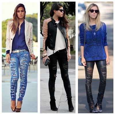 calças customizadas
