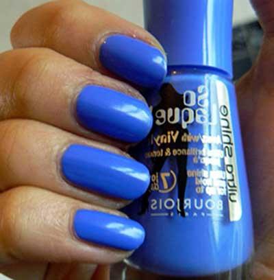 fotos de esmaltes azuis
