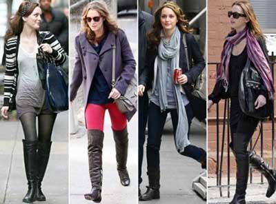 tendências de botas