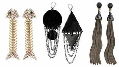 tendências de brincos da moda