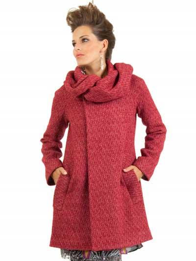 casacos de lã da moda