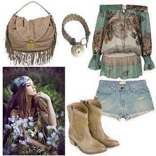 Look da Moda Hippie