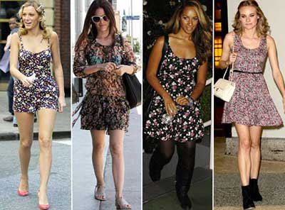 estampas floridas da moda