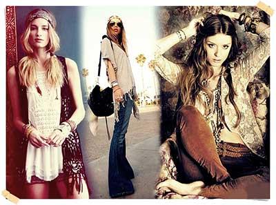 roupas para hippies
