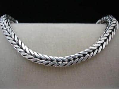 tendências de acessórios de prata