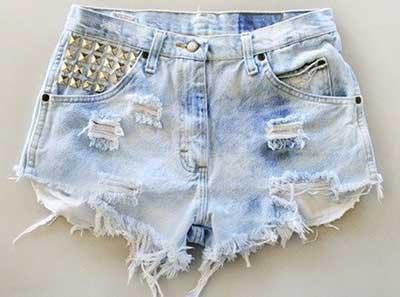 modelos de shorts com spikes