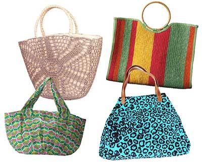 sugestões de bolsas de praia