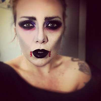 imagens de maquiagens para dia das bruxas
