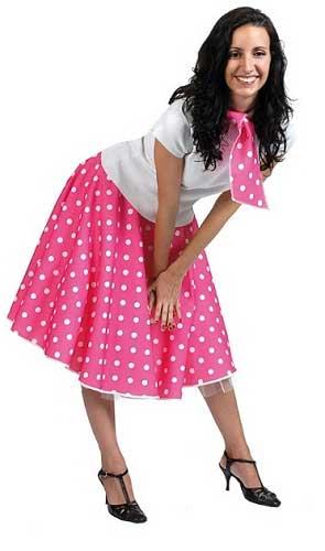 modelos de saias anos 60