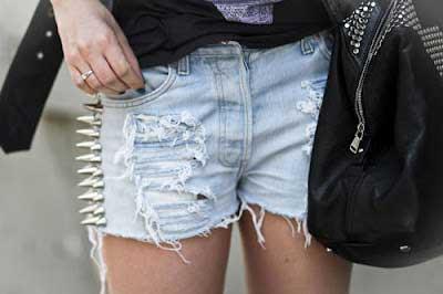 fotos de shorts com spikes