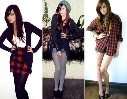 Modelos de Moda Grunge