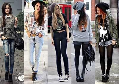 para se vestir como uma hipster