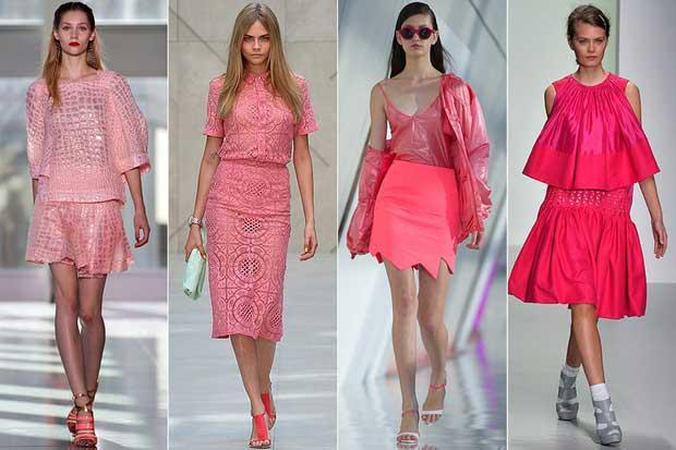 imagens da Moda Rosa