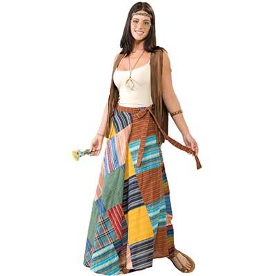 tendências de saias anos 60