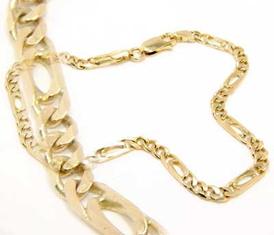 pulseiras de ouro da moda