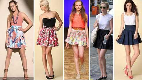 modelos de saias femininas